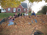 Project Crossroads volunteers repair a home.